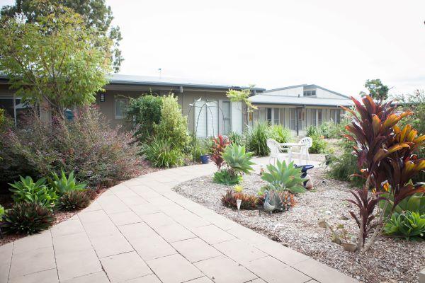 WesleyCare Coomera exterior gardens
