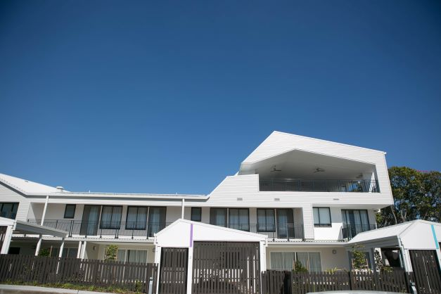 Architecture at Hummingbird House at Chermside