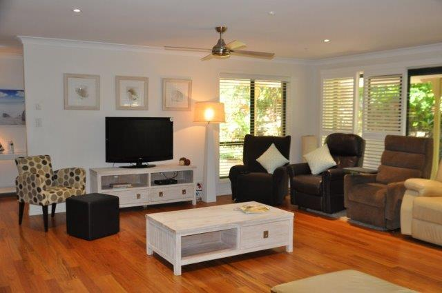 Lounge area at Living Well Respite