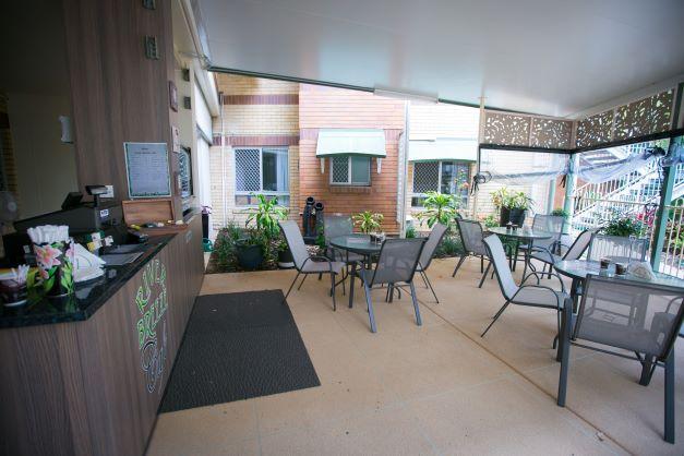 Coffee shop at Bethesda