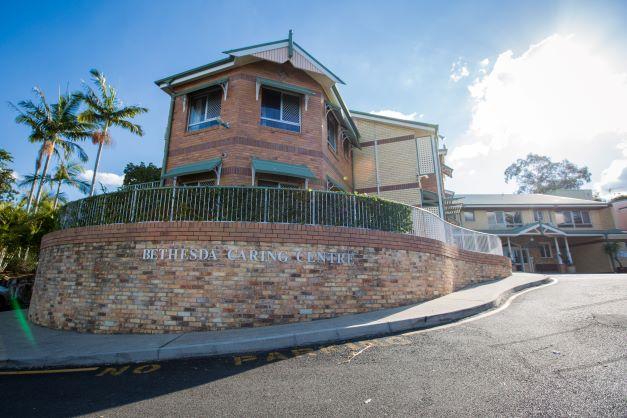 Exterior of Bethesda Caring Centre at Corinda