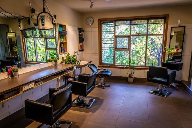 Hair salon at John Wesley Gardens