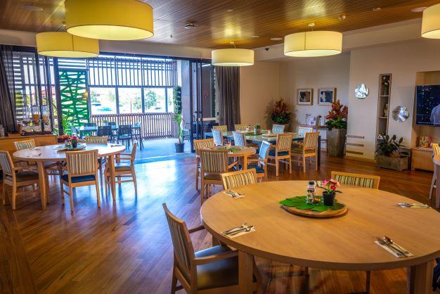 John Wesley Gardens dining room