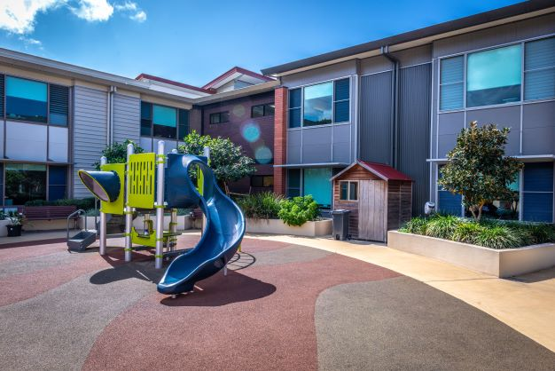 Playground at John Wesley Gardens