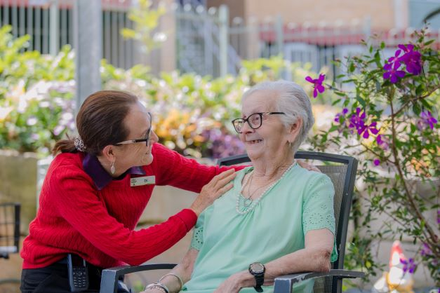 Responsive care and getting to know our residents