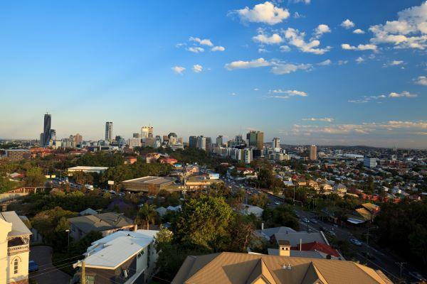 View of Brisbane