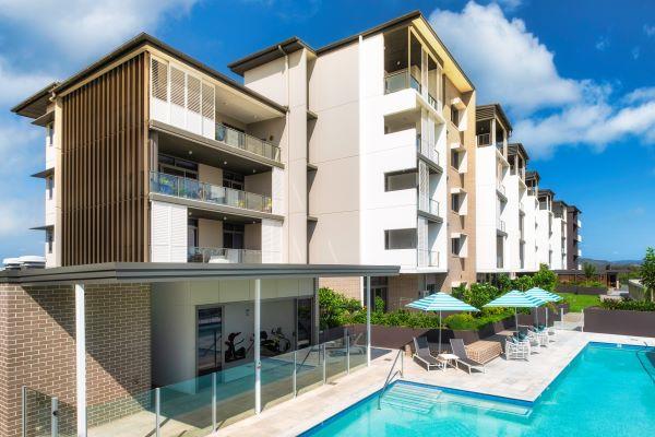 Rosemount building and pool
