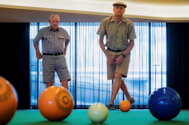 Enjoying a game of bowls at Rosemount Retirement Community
